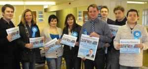 Barnsley by-election support